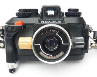 SALE  - UNDERWATER  Nikonos IV-A Nikon Scuba Dive Film Camera - W Nikkor f2.5 35mm All Weather Outdoor Photography Sport-