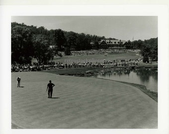 Golf - Baltusrol clubhouse from green, US Open 1954 - GO-011