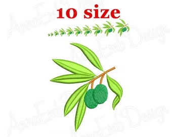 olive branch embroidery design olive branch silhouette olive branch design mini olive branch - Bakers Gonna Bake Kitchen Redwork Embroidery Designs