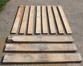 Pallet boards,pallet wood,pallet planks,reclaimed pallet wood,pallet wood boards,pallet planks,blank pallet planks,set of 14 boards