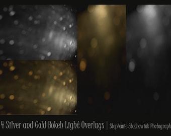 Bokeh Overlay, Light Overlay, Textures, Light Leak
