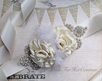 Wedding Dress Sash, Ivory wedding belt Sash, bridal sash/belt, Maternity Sash Belt, Satin Ribbon Sash, Bridesmaid Dress Sash/Belt