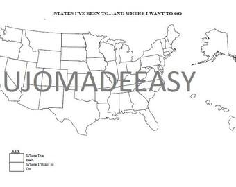 USA Travel Template
