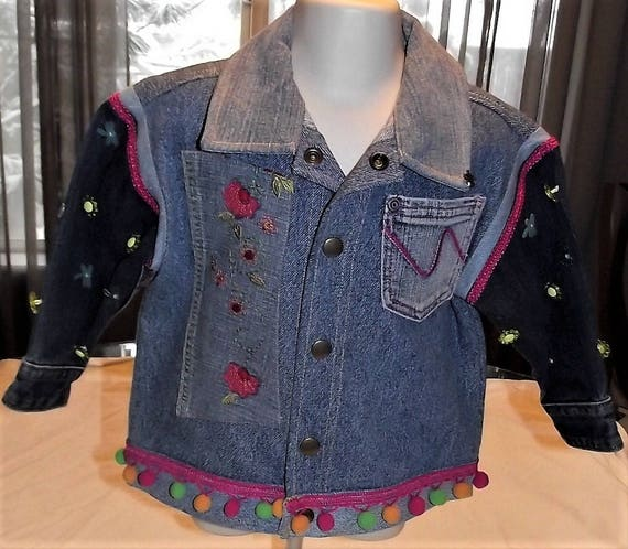 Refurbished Girls Denim Jacket, Size 2T