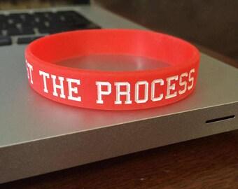 Trust the Process wrist band bracelet