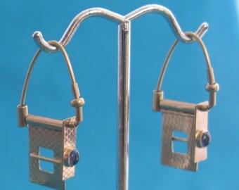 14k gold 3way earrings