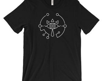 Men's Breath of the Wild Legend of Zelda Sheikah Slate Minimalist Icon T-Shirt