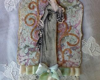 Regency Style, Tag, Ornament, Jane Austen, All Occasion, Regency Fashion Image, Romantic, Keepsake, NECteam