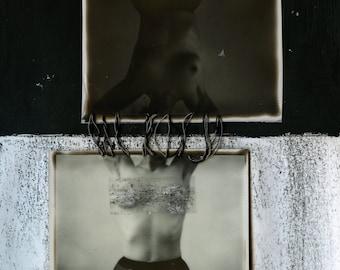 Sister Midnight Sister Noon ⁂ Polaroid Photography Fine Art Print