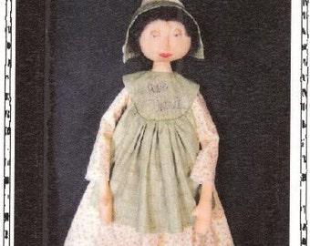Primitive pattern, Doll epattern, Primitive Folk art doll, See on Etsy, sewing pattern, cloth Apron pattern, Cloth Doll Pattern, Folk art