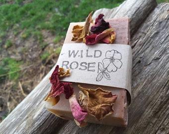 Wild Rose Milk Soap