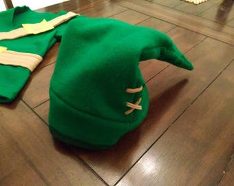 Handmade Hat Inspirered by Link from the Legend of Zeld - Halloween Costume - Photo Prop