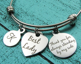 best lady gift from groom, best woman proposal gift, personalized wedding gift, grooms party gift, grooms gift to best woman sister of groom