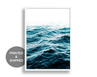 Sea Print, Ocean Wall Art Print, Ocean, Giclee Print, Ocean Photography, Ocean Print, Prints, Coastal Wall Decor, Blue Water, Beach Art