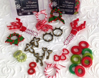 Stitch Markers Christmas Collection Finders Keepers
