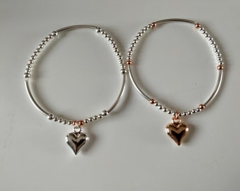 Love Me So Sterling Silver Stacking Set