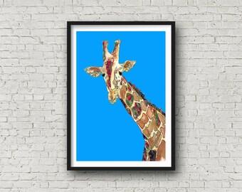 Giraffe - Print