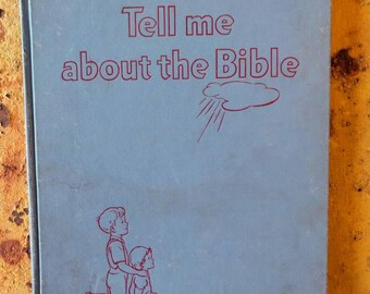 Hardback Tell Me About the Bible book, 1951