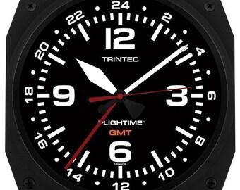 "Trintec 10"" Flightime™ GMT Dual Time Clock FT-GMT-10"