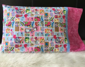 Shopkins Pillowcase/Pillowcasesforcancer/Shopping/Childhood Cancer Donation with each purchase!