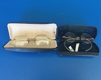 Two Pair of Vintage Eyeglasses