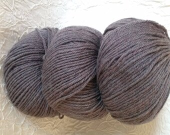 organic wool 100% pure new wool - getting-chestnut chip. 50 g.