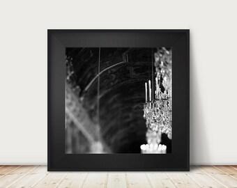 paris photography versailles photograph hall of mirrors photograph black and white photography paris decor french decor