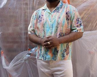 Shirt Vintage unisex patterned - Vintage shirt