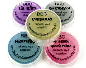 SAMPLE Choose 5 - BBC Mineral Eyeshadows