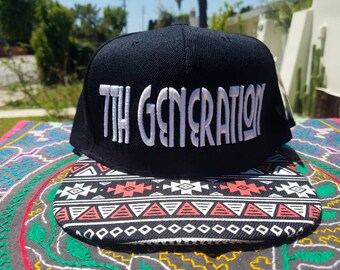 THE 7th GENERATION HAT ( red and black ) #unity