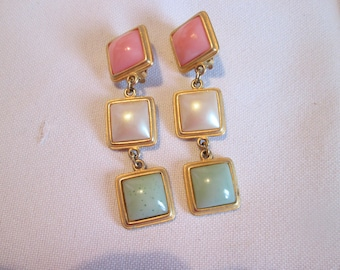 Vintage clip earrings / Vintage Earrings with clips