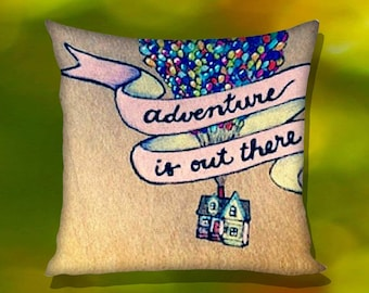 Adventure Is Out There Disney Up Pillow Case