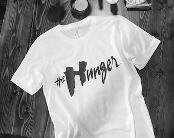 "David Bowie  ""The hunger""T shirt"