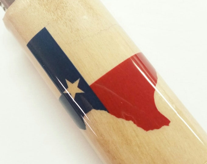 Texas Lone Star State of Texas BIC Lighter Case Holder Sleeve Cover