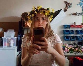 Flower Crown fairy headpiece