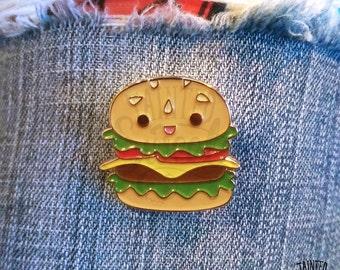 Burger Buddy Enamel Pin