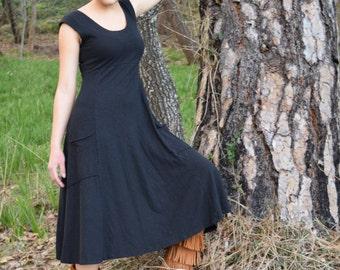 Market Dress // Gorgeous Hemp & Organic Cotton Jersey // Eco Fashion