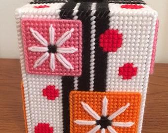 Flower Power Tissue Box Cover