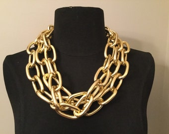Chain Necklace - Gold Tone