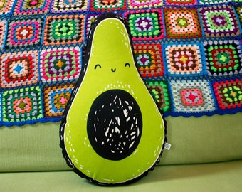 Ava Avocado Stuffed Toy Pillow