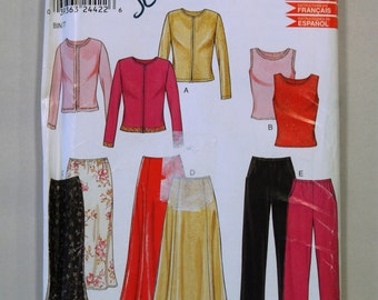 Out-of-Print New Look 6034 Sewing Pattern / Misses' Separates Pattern / Sizes 8-18