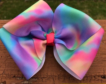 Snowcone hair bow