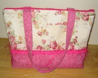Marie, Large Tote Bag, E-pattern, PDF, Downloadable Digital Pattern
