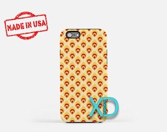 Cute Flame Phone Case, Cute Flame iPhone Case, Fire iPhone 7 Case, Orange, Fire iPhone 8 Case, Cute Flame Tough Case, Clear Case, Flare