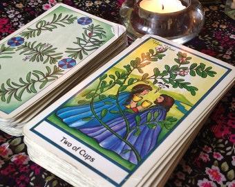 The Herbal Tarot - one tarot card reading