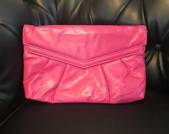 Vintage clutch (pink)