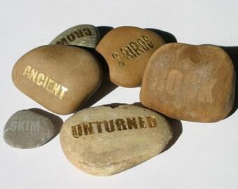 Poetic Stones & Rocks