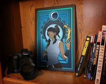 Art Nouveau - Avatar - Legend of Korra Posters