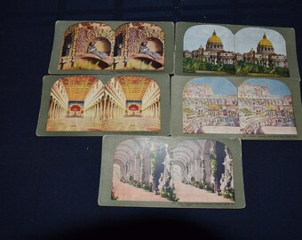 Stereoscope Views of Italy - Set of 5