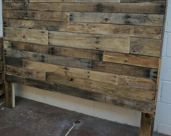 Headboard - Pallet Wood (LOCAL ONLY)